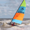 Hobie Worlds. Dodds on Hobie 14 Podium