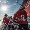 Rolex Fastnet Race. Dongfeng First VOR Yacht to Ease Sheets At the Fastnet Rock