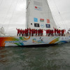 Clipper Race. Sanya Serenity Coast Claims Line Honours