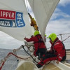 Clipper Race. Spinnakers Emerge As Westerlies Fill in