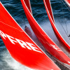 Dongfeng Race Team and MAPFRE in Tense Match Race