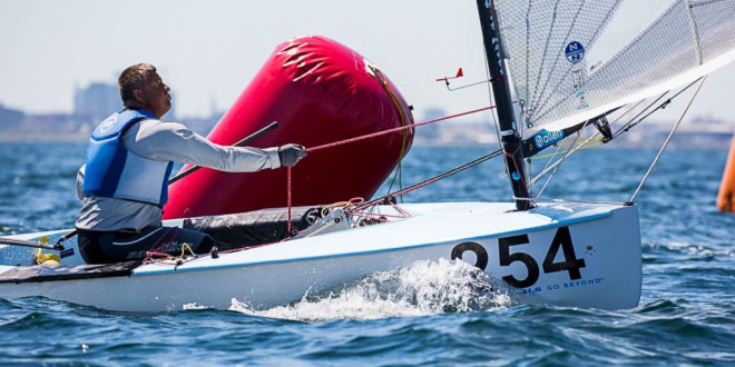 Finn World Masters. RSA Leave Best to Last