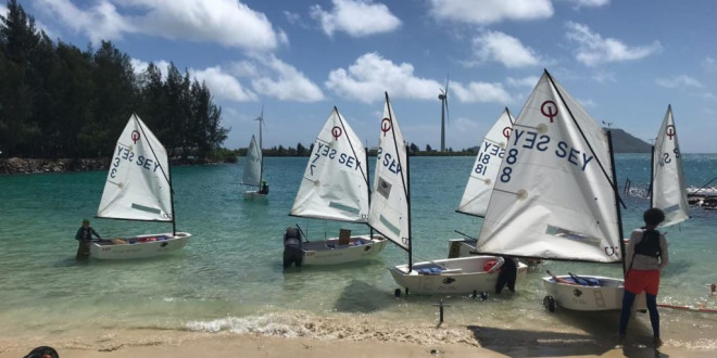 African Optimist Champs in Seychelles
