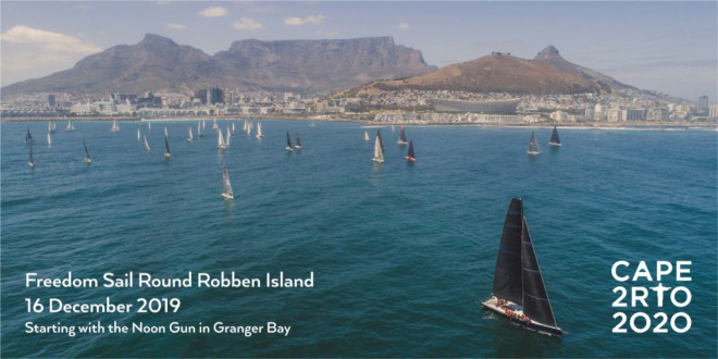#SAIL4GOOD – and the Freedom Sail Round Robben Island