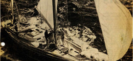 """Talking Sailing"" From My Archives. Voortrekker Leads – & Damage Already"