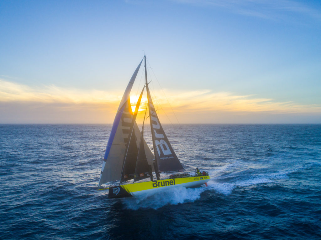 Volvo Ocean Race Duelling In The Southern Ocean Sailing